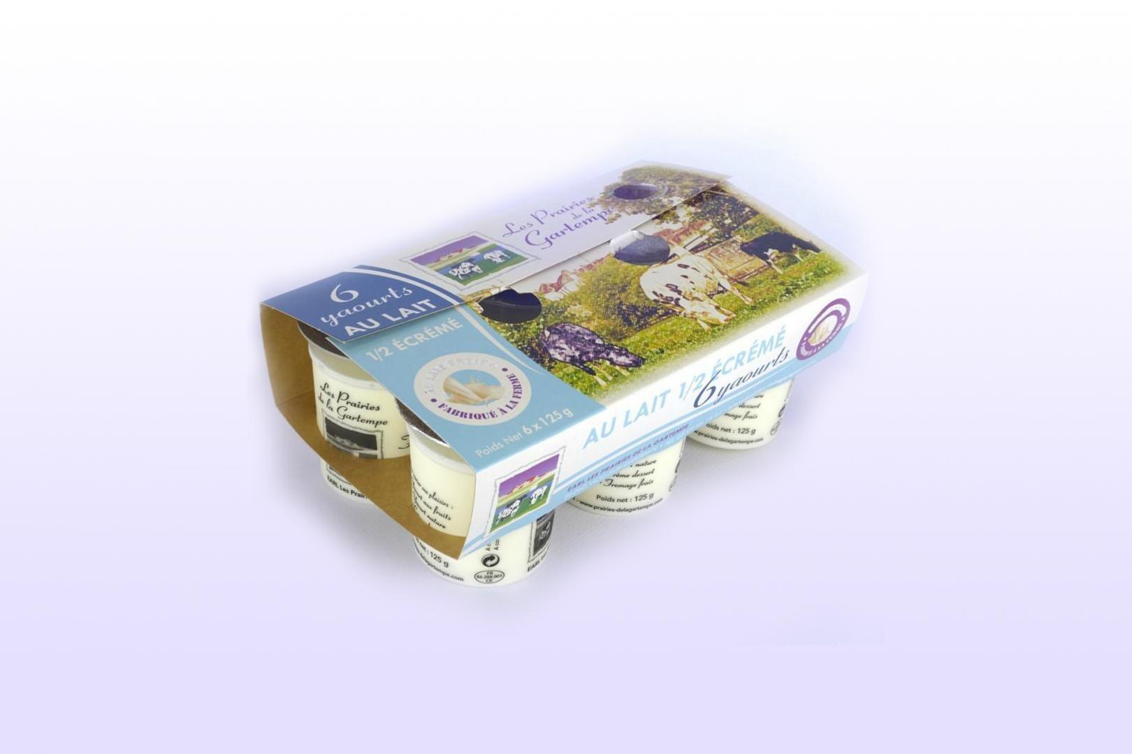 Ferme laitière à Vicq-sur-Gartempe - yaourts de la ferme