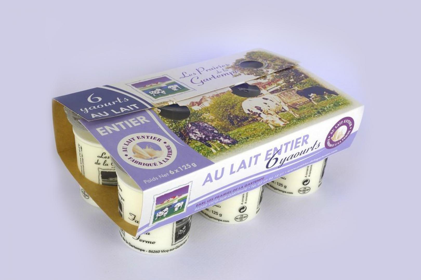 ferme laitière dans la vienne - conception de produits laitiers