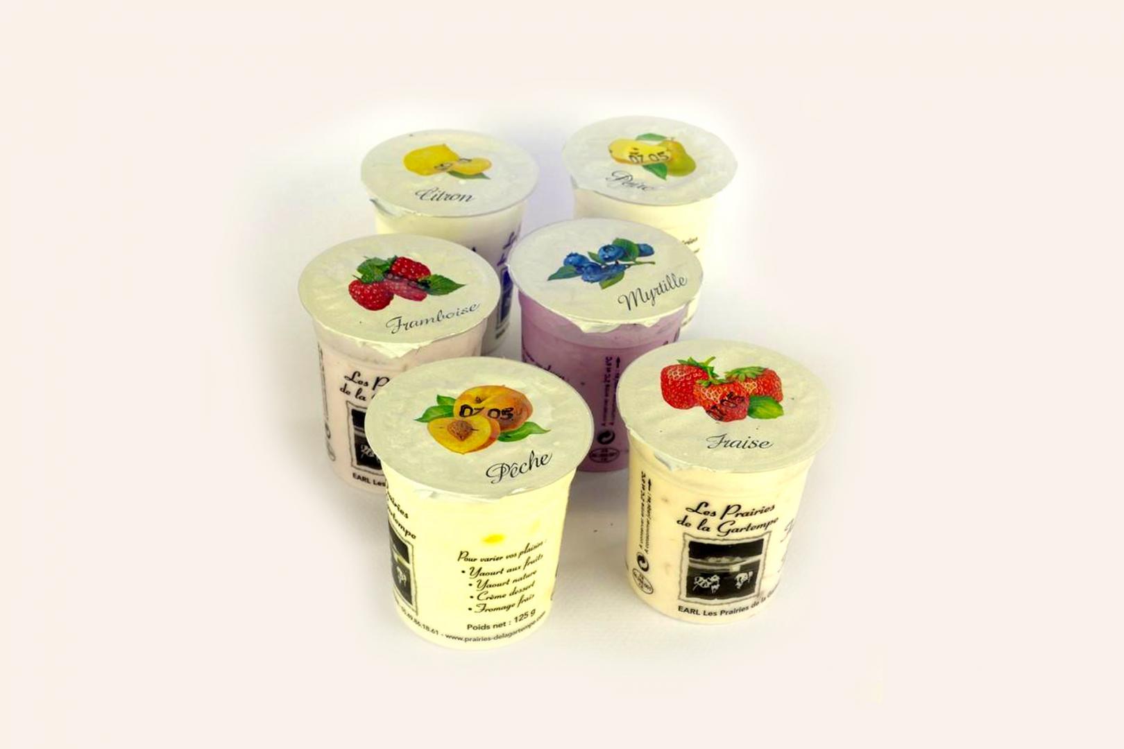 produits laitiers frais - vente de yaourts laitiers de la ferme 86