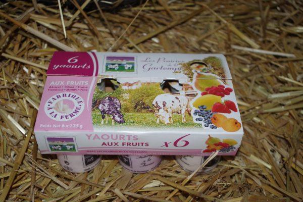 6 yaourts aux fruits fermiers 86