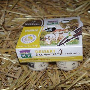 Crèmes dessert à la vanille vente en ligne 86
