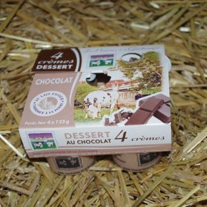 Crèmes dessert au chocolat - Click and Collect 86