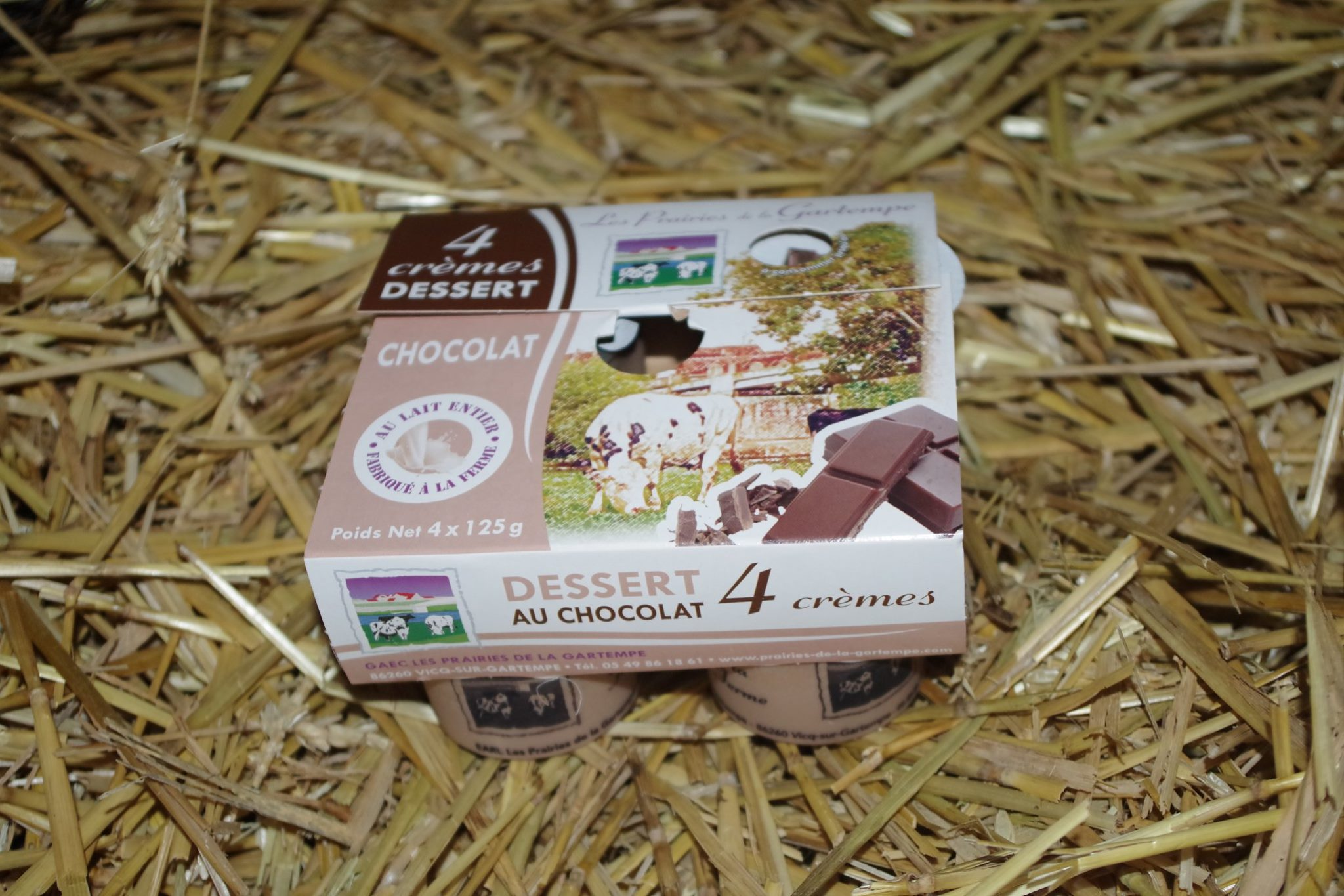 Crèmes dessert au chocolat - Click and Collect 86